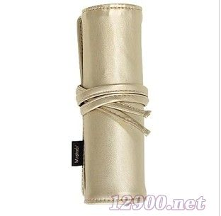 MustaeV金色卷携式化妆笔袋