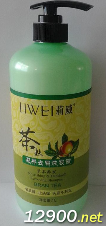 1L茶麸滋养去屑洗发露