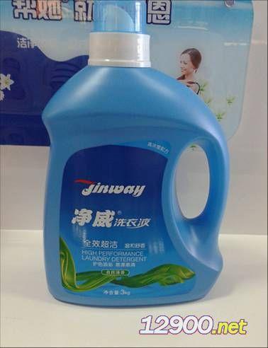 净威超洁洗衣液(自然清香)3L