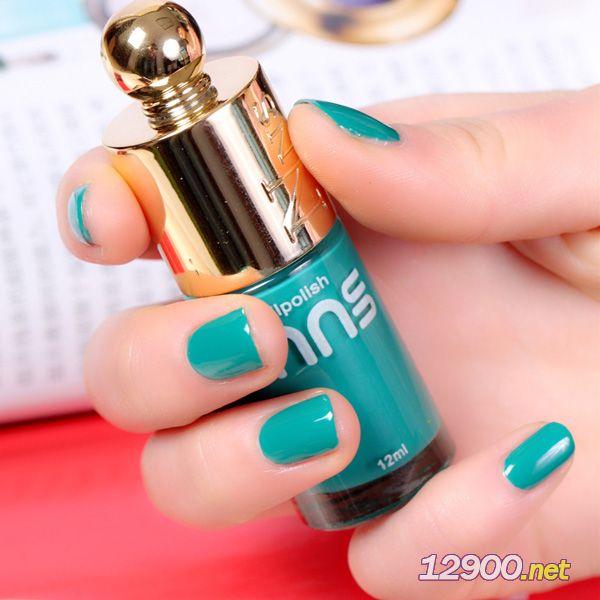 娜逸丝nns065青色指甲油