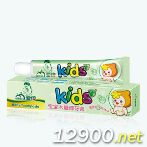 宝宝木糖醇防蛀牙膏