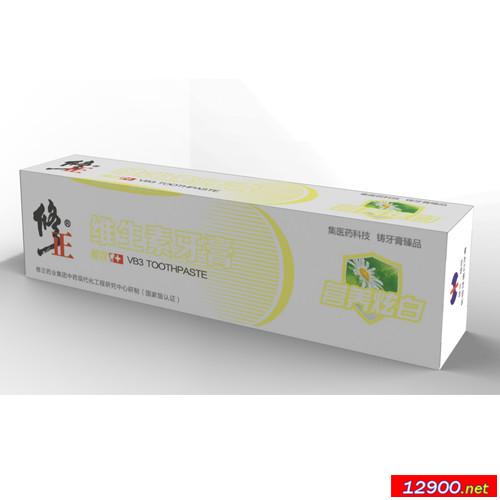 维生素营养炫白牙膏