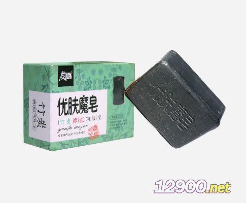 炭给力竹炭橄榄润肤皂