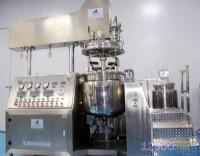 液压升降真空乳化设备