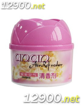 90g安安空气清香剂(茉莉香型)花蕾盖