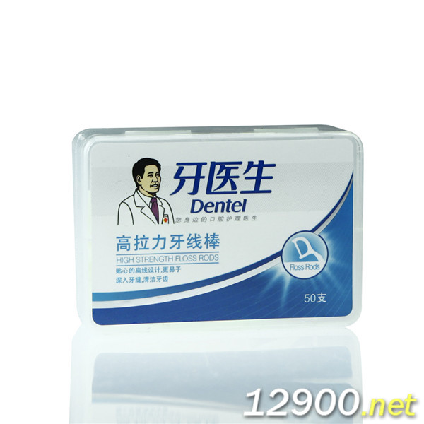 牙医生高拉力牙线棒