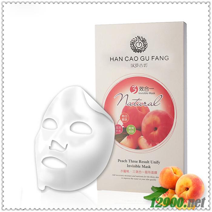 水蜜桃三效合一隐形面膜