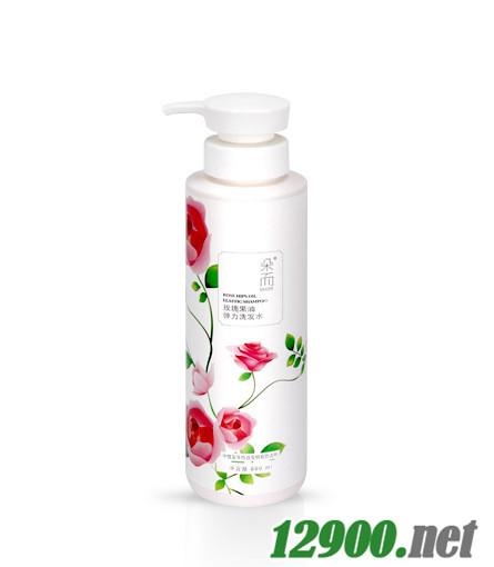 玫瑰果油弹力洗发水300mL