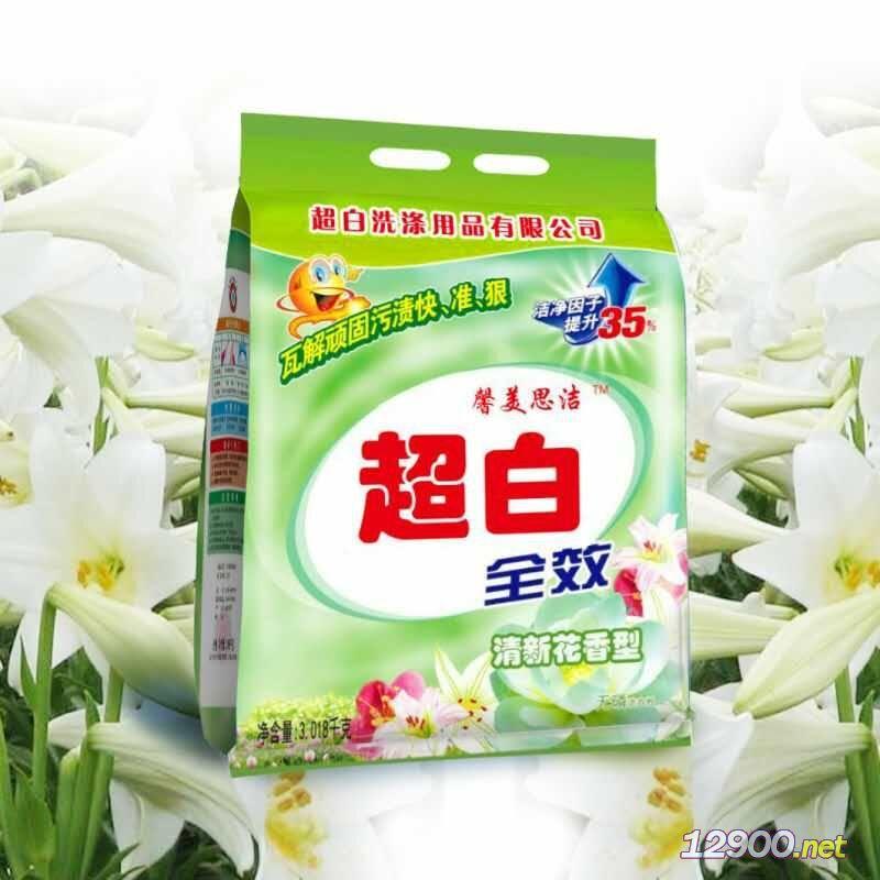 天然�H�w�o磷洗衣粉(清新花香型)