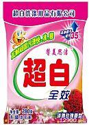 天然亲肤洗衣粉(玫瑰香型)红色包装