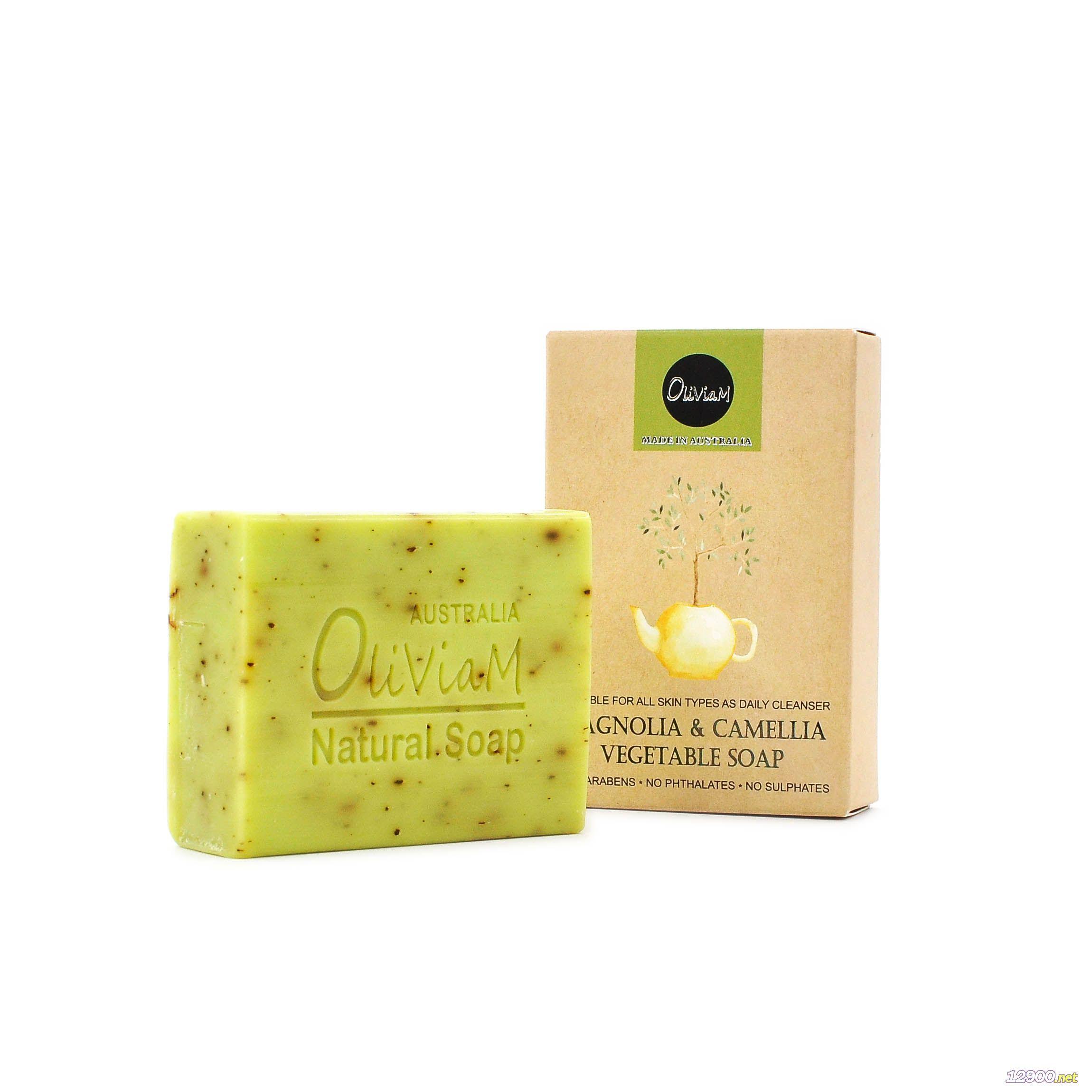 澳莉维亚澳洲木兰山茶花精油皂