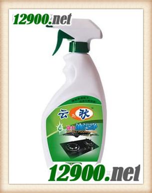 瓶装强力油污净