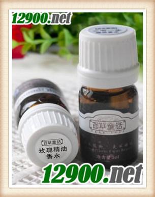 百草童话玫瑰精油香水5ml