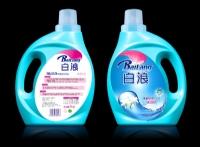 白浪洁雅百合(蓝色)洗衣液