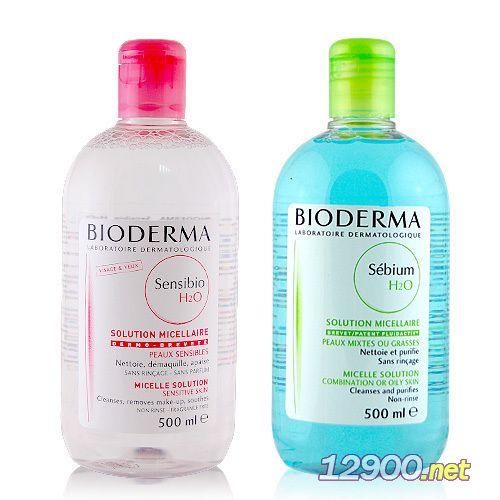 法国Bioderma贝德玛舒研卸妆水