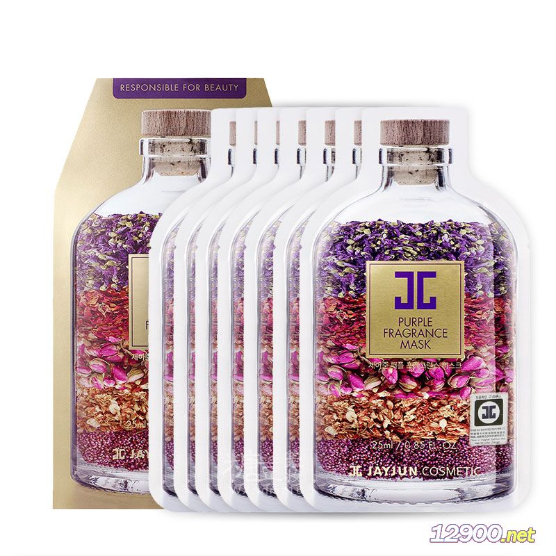 JAYJUN新品紫色水光香薰面膜