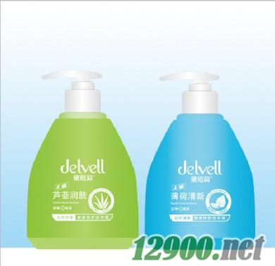 薄荷清新健康防护洗手液