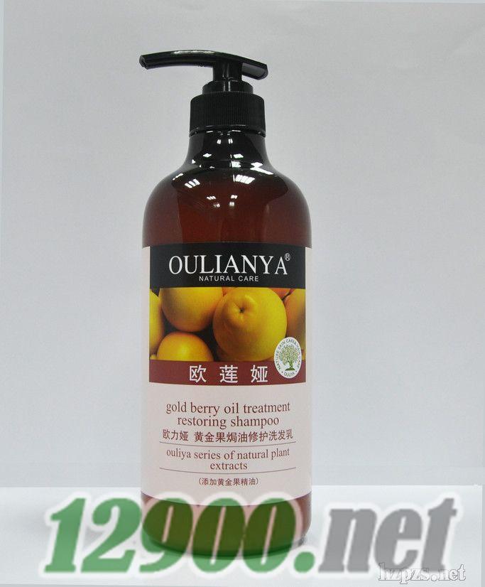 """""""欧莲娅""""*果�h油修护洗发乳"""