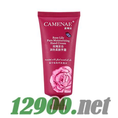 玫瑰百合润色柔肤手霜