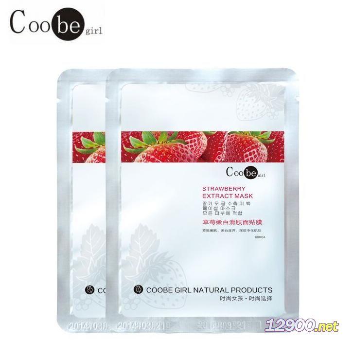 Coobegirl-草莓嫩白滑�w面�N膜