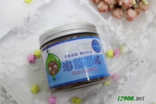 320g泰���海藻籽平衡油脂、嫩白�a水海藻面膜