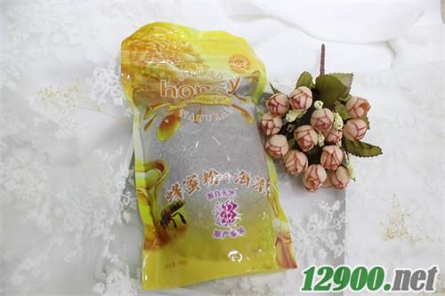 500g立袋蜂蜜粉海藻滋���B�面膜