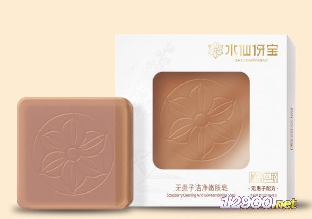 水仙伢宝无患子洁净嫩肤皂