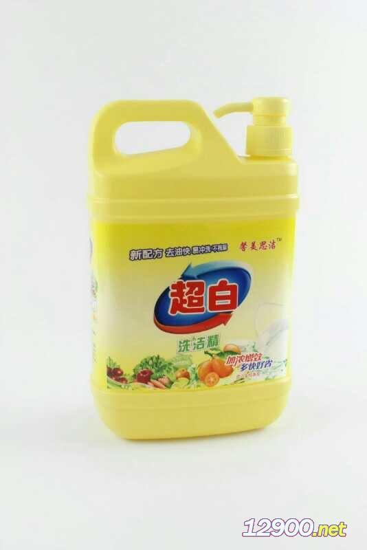 超白除菌低泡洗洁精