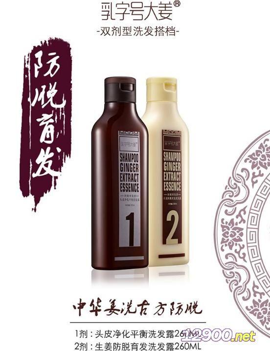 乳字号大姜双剂型洗发搭档――防脱育发