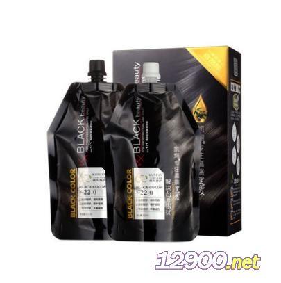 水光膜力黑油染发膏