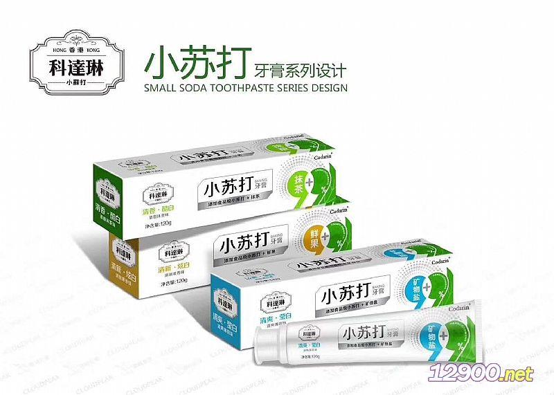 小苏打牙膏-矿物盐