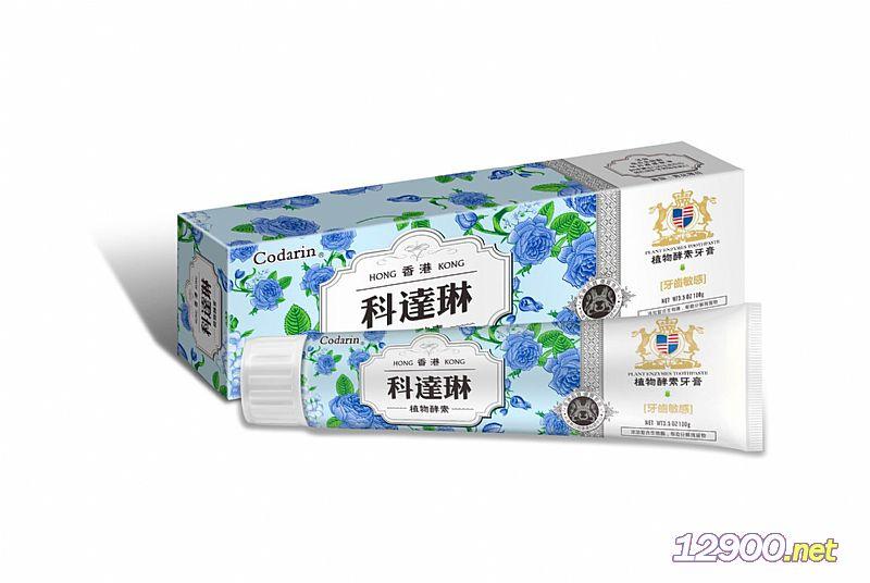 植物酵素牙膏-牙齿敏感