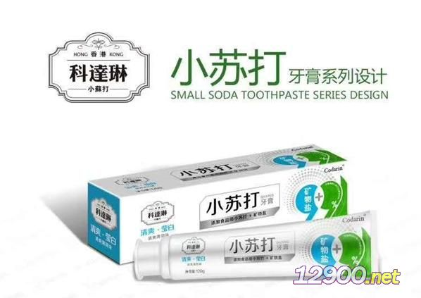 小苏打牙膏-清爽莹白