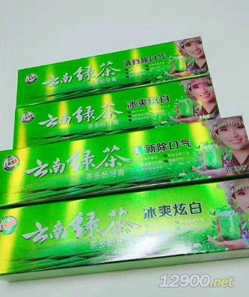 云南�G茶茶多酚牙膏