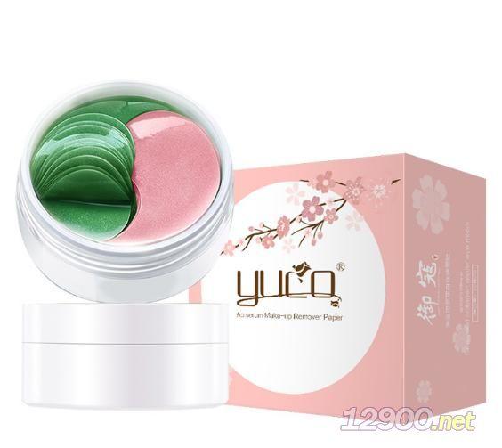 YUCO双色眼膜海藻胶原蛋白修护眼贴膜