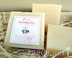 草莓手工香皂