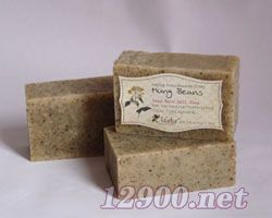 绿豆韩方去泥手工香皂