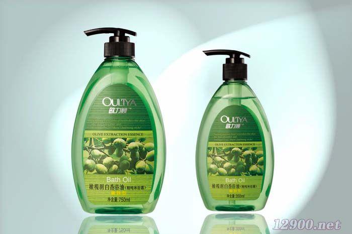 橄榄润白香浴油