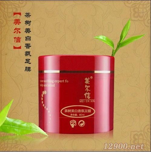 茶树美白香氛足膜