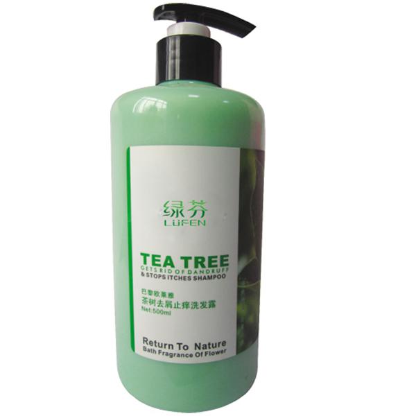 茶树去屑止痒洗发露