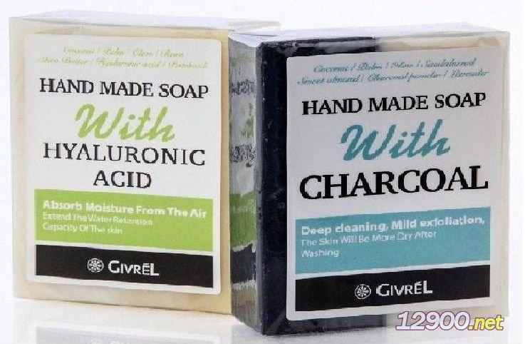滋润沐浴手工皂礼盒玻尿酸/竹炭