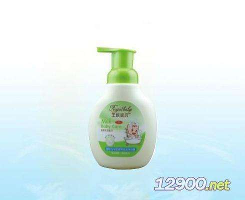 王族宝宝婴幼儿牛奶滋养洗发沐浴露320ml