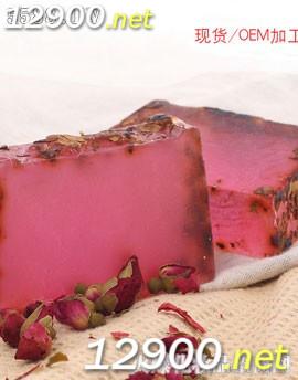 植物精华玫瑰祛黄精油手工皂