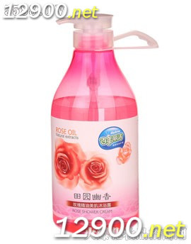玫瑰精油美肌沐浴露