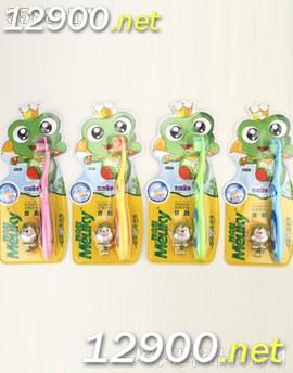 NO.319青蛙王子妙奇蛙儿童双效护齿牙刷+赠品