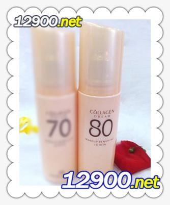 胶原蛋白80清爽柔和卸妆乳