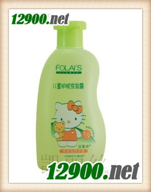 儿童护肤洗发露(香橙滋养护理)