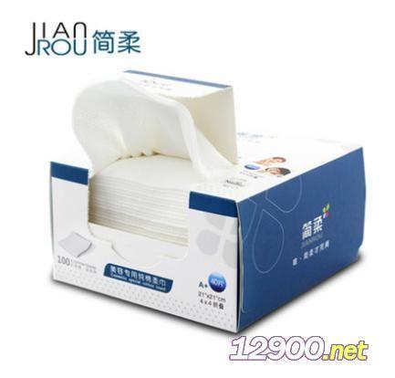 �柔折�B方巾�W�y40片/盒