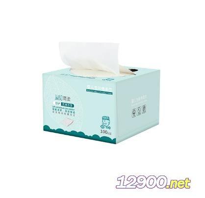 简柔婴儿专用棉柔巾100片盒装