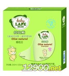 拉比熊橄油儿童滋养洗发露